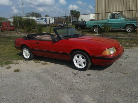 true survivor 1987 Ford Mustang LX covertible for sale