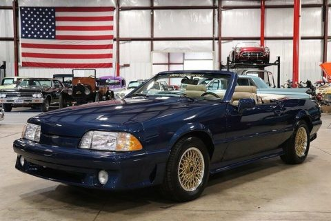 very low miles 1988 Ford Mustang ASC McLaren convertible for sale