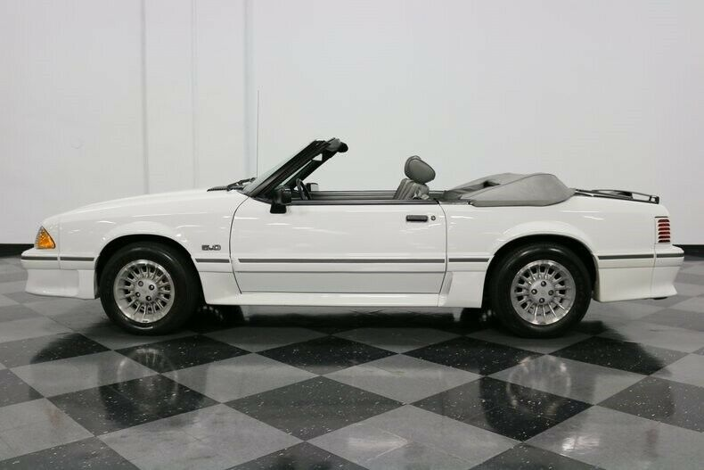 very low miles 1989 Ford Mustang GT convertible