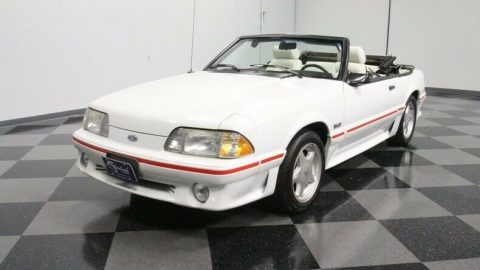 well preserved 1988 Ford Mustang GT Convertible for sale
