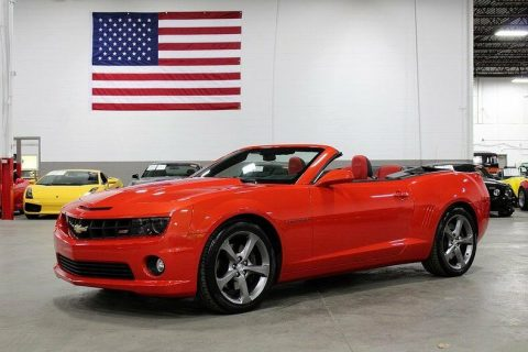 low mileage 2013 Chevrolet Camaro Convertible for sale