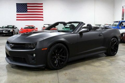 modified 2013 Chevrolet Camaro ZL1 CONVERTIBLE for sale