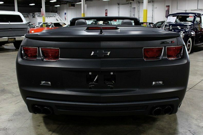 modified 2013 Chevrolet Camaro ZL1 CONVERTIBLE