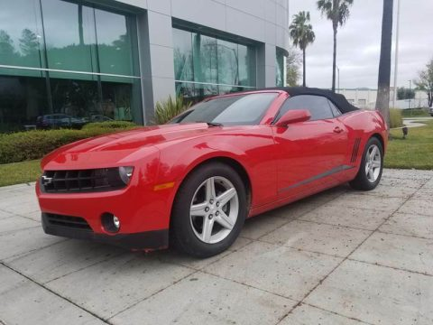 well equipped 2012 Chevrolet Camaro LT Convertible for sale