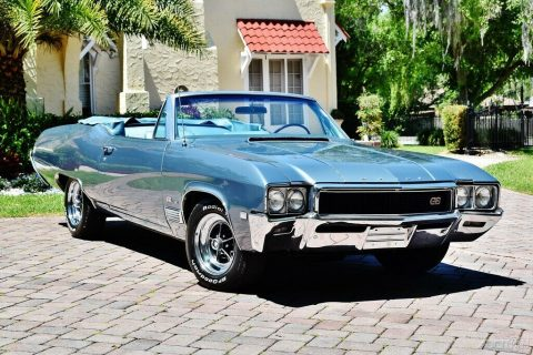 Amazing 1968 Buick GS 400 Convertible for sale