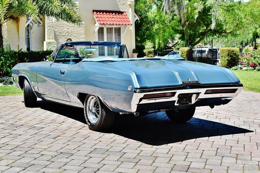 Amazing 1968 Buick GS 400 Convertible