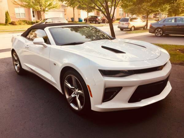 extra equipment 2017 Chevrolet Camaro SS convertible