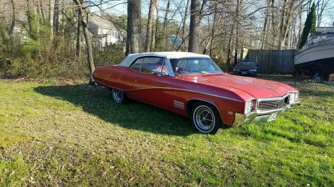 great daily driver 1968 Buick Skylark Convertible for sale