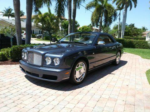 low miles 2007 Bentley Azure convertible for sale