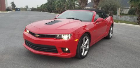 low miles 2014 Chevrolet Camaro SS Convertible for sale