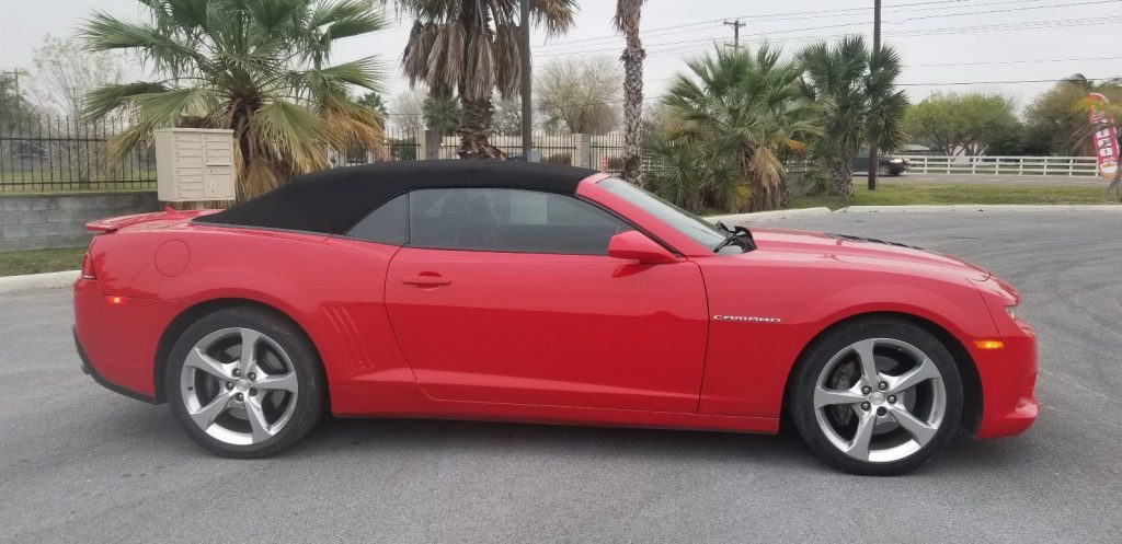 low miles 2014 Chevrolet Camaro SS Convertible
