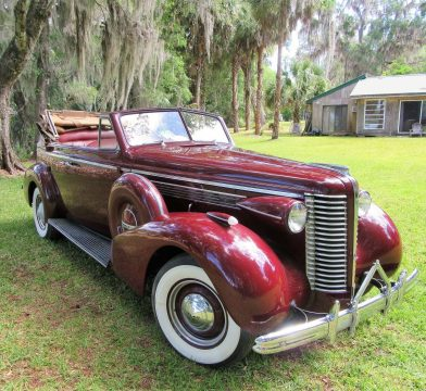 rare 1938 Buick Series 40C convertible for sale