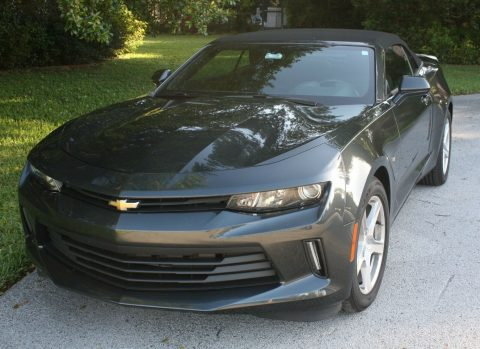 very low miles 2016 Chevrolet Camaro LT Convertible for sale