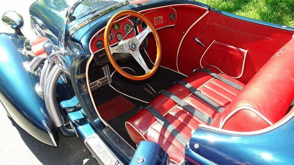 art deco 1980 Auburn Replica convertible