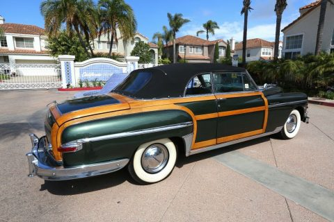 beautiful 1949 Chrysler Town & Country Convertible for sale