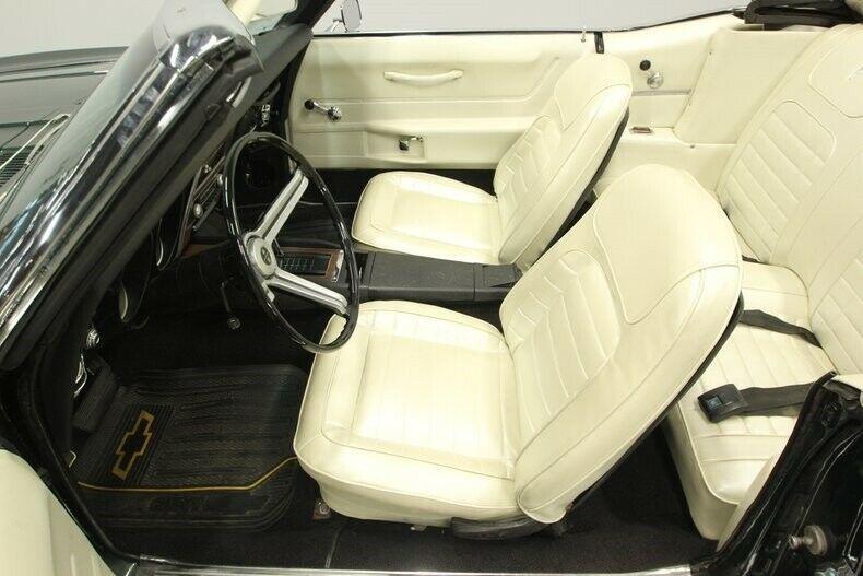 clean 1968 Chevrolet Camaro Convertible