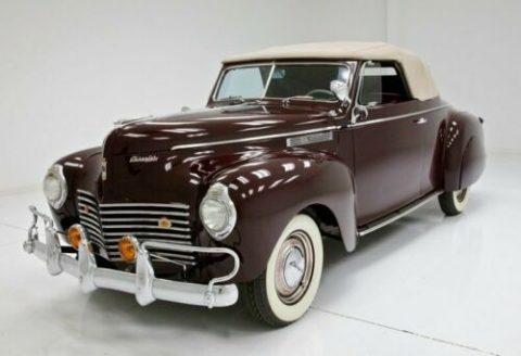 older restoration 1940 Chrysler Windsor Convertible for sale