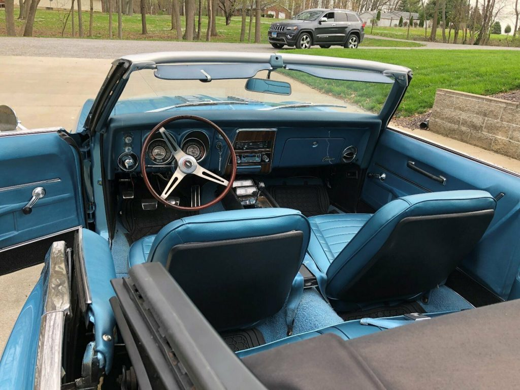 original 1968 Chevrolet Camaro Convertible