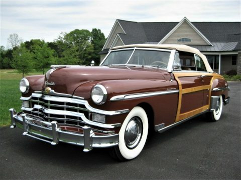 perfect restoration 1949 Chrysler Town & Country Convertible for sale
