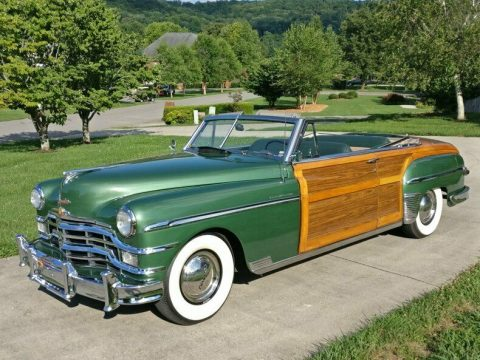 pristine 1949 Chrysler Town and Country Convertible for sale