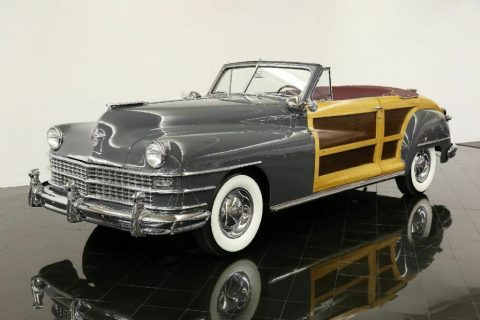 rare 1948 Chrysler Town & Country Convertible for sale