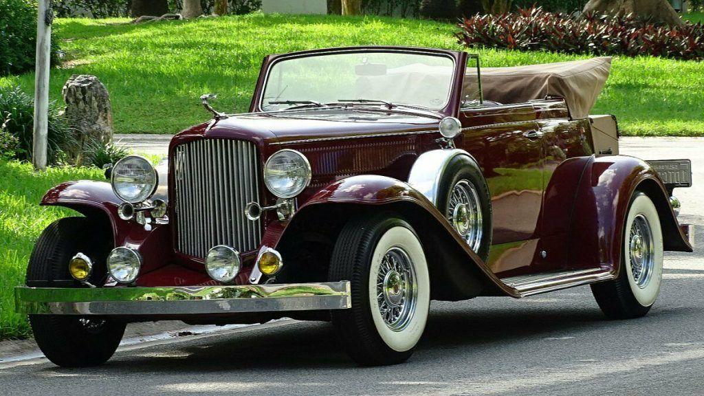 replica 1932 Cadillac Convertible