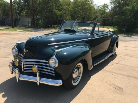 Restored 1941 Chrysler New Yorker Convertible for sale