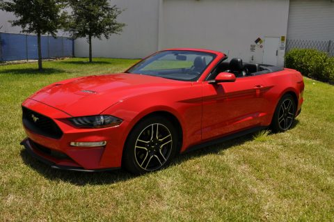 fully loaded 2018 Ford Mustang Premium Convertible for sale