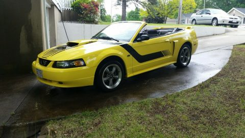 low miles 2003 Ford Mustang Convertible for sale