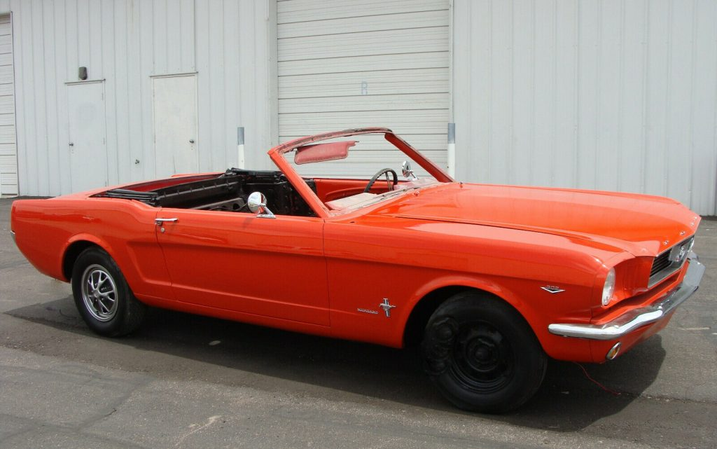 Project 1966 Ford Mustang Convertible