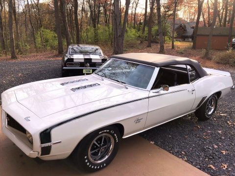 rare 1969 Chevrolet Camaro SS 396 Convertible for sale