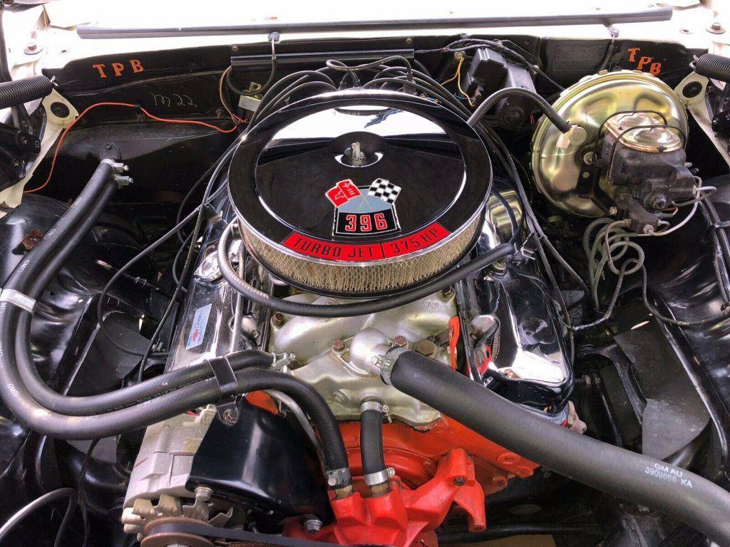 rare 1969 Chevrolet Camaro SS 396 Convertible