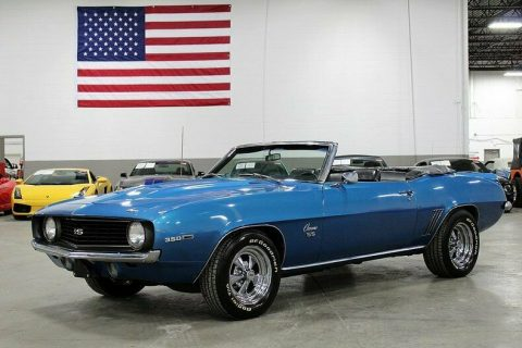 refreshed 1969 Chevrolet Camaro Convertible for sale