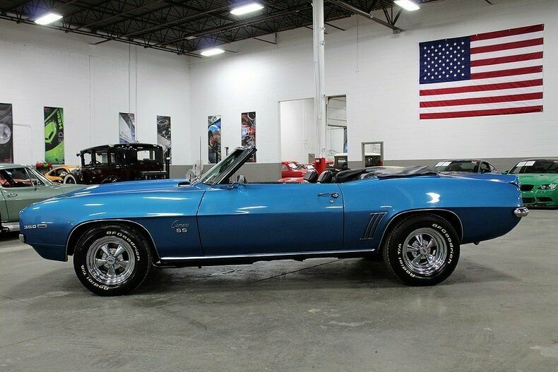 refreshed 1969 Chevrolet Camaro Convertible