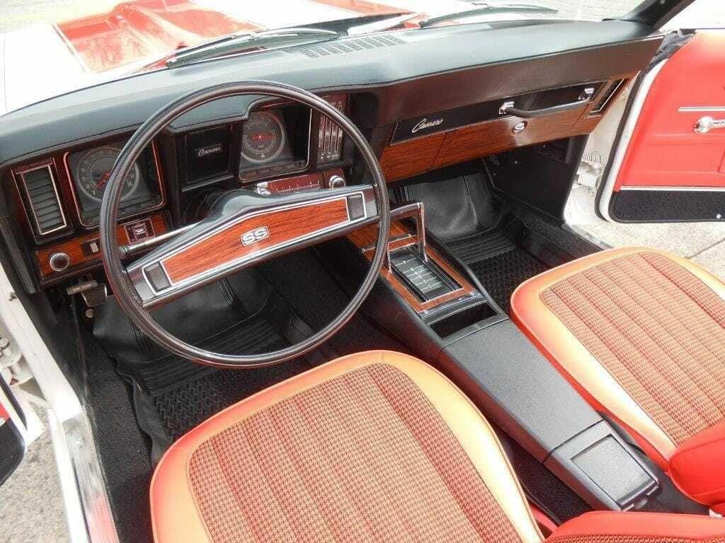 restored 1969 Chevrolet Camaro Convertible