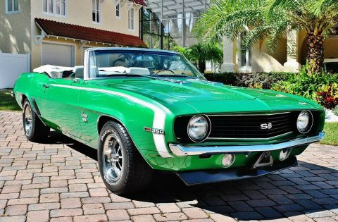 restored 1969 Chevrolet Camaro SS Convertible for sale