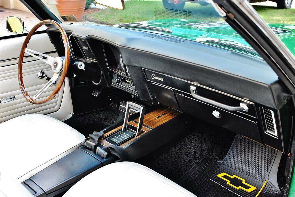 restored 1969 Chevrolet Camaro SS Convertible