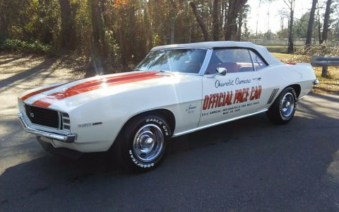 stunning 1969 Chevrolet Camaro Rs/ss PACE CAR Convertible for sale