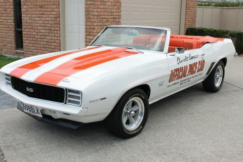 stunning 1969 Chevrolet Camaro Z11 Pace Car Convertible for sale