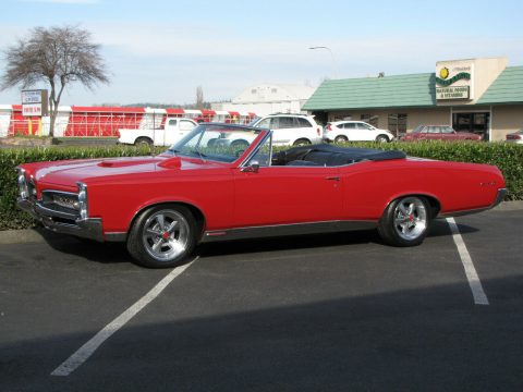 well equipped 1967 Pontiac GTO Convertible for sale