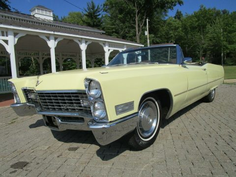 absolutely beautiful 1967 Cadillac Coupe Deville Convertible for sale