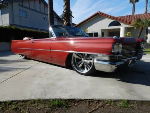 air ride 1963 Cadillac Deville Convertible for sale