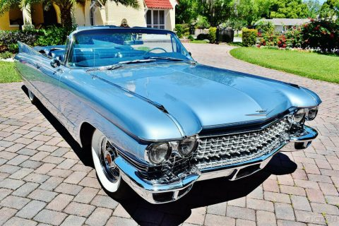 Amazing 1960 Cadillac Series 62 Convertible for sale