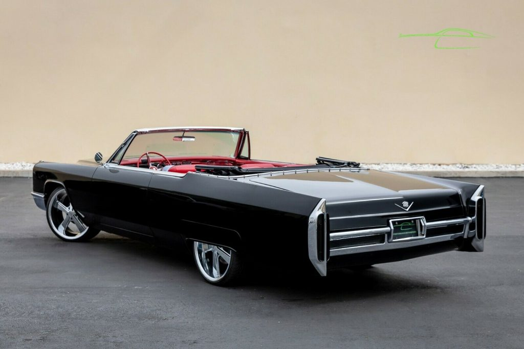 custom 1966 Cadillac DeVille Convertible for sale