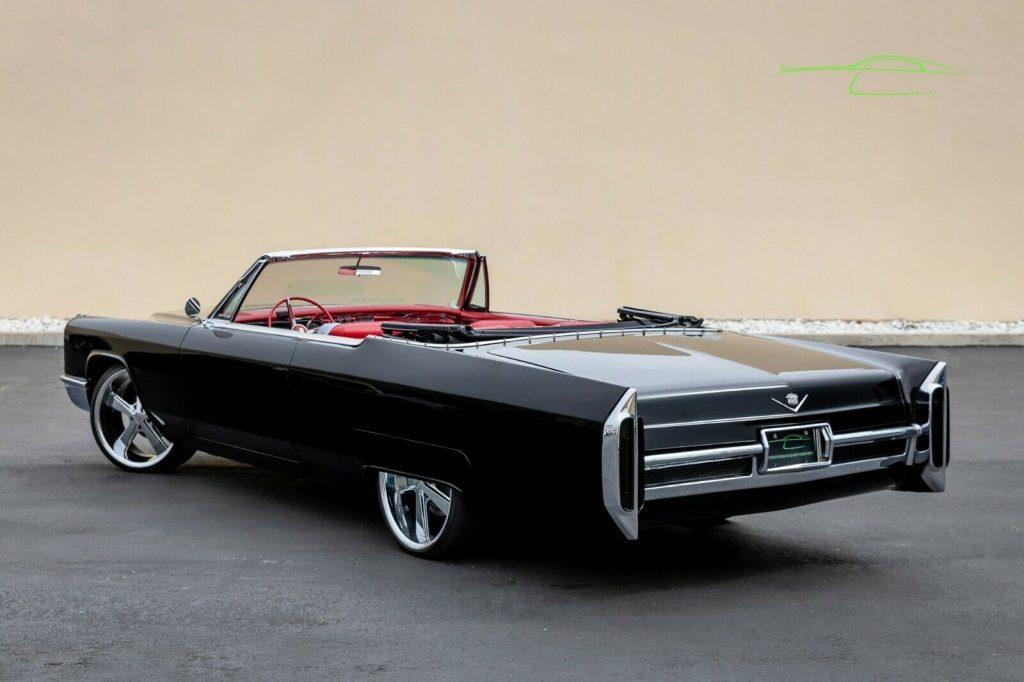 custom 1966 Cadillac DeVille Convertible