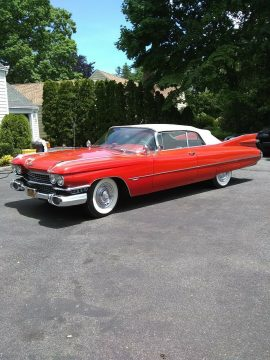 excellent shape 1959 Cadillac 62 Series convertible for sale