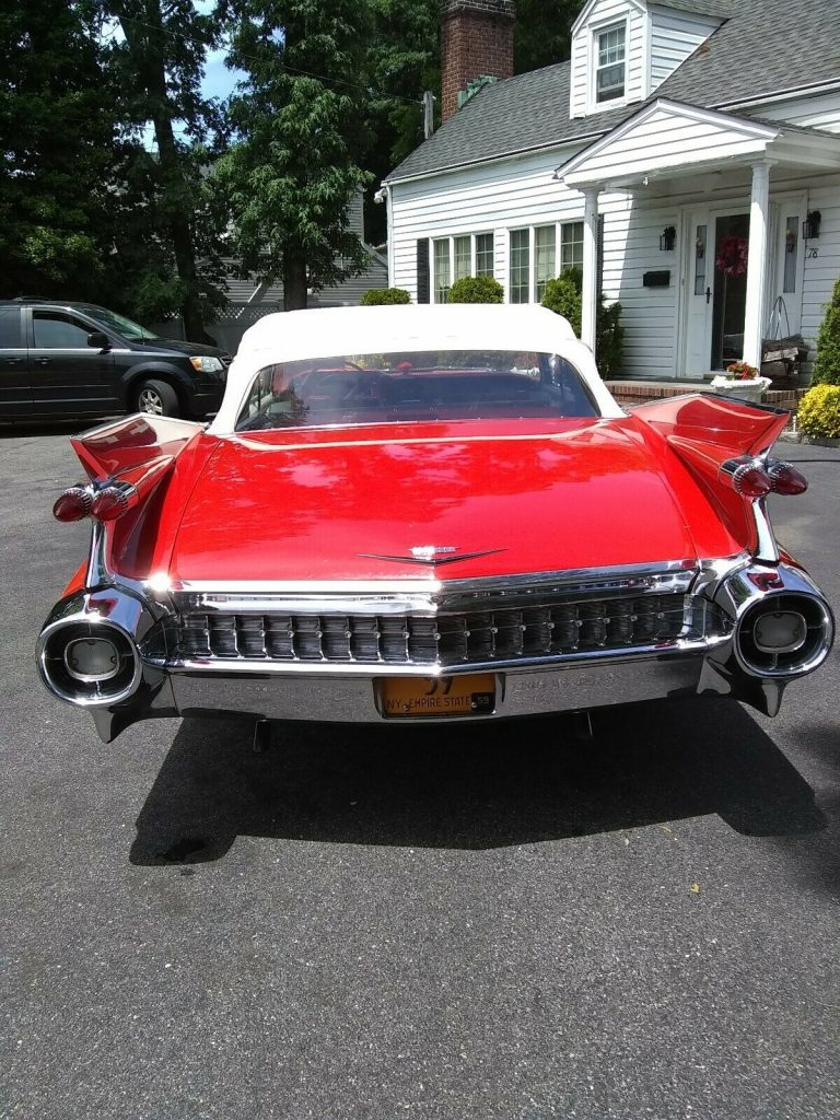 excellent shape 1959 Cadillac 62 Series convertible