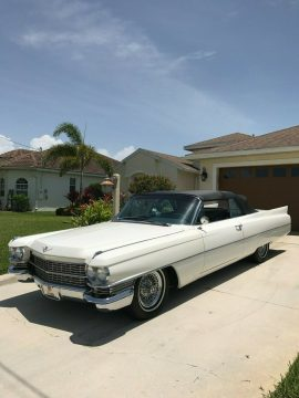 great looking 1963 Cadillac DeVille Convertible for sale