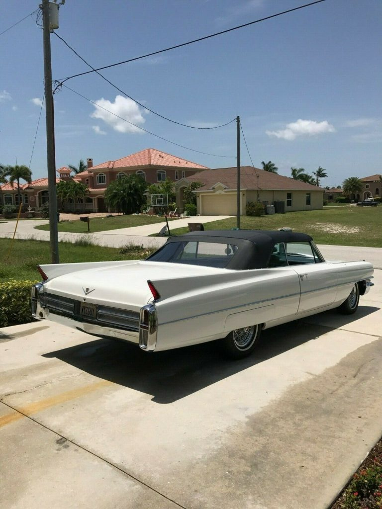 great looking 1963 Cadillac DeVille Convertible