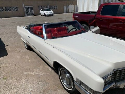 great shape 1969 Cadillac Deville Convertible for sale